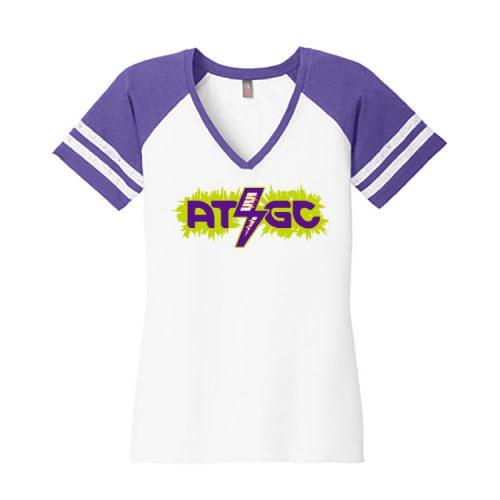 Women's Chemistry Purple Short Sleeve Science T-Shirt