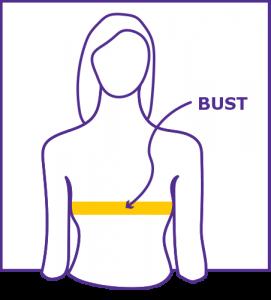 Bust Measuring Diagram