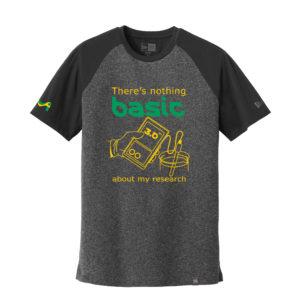 Men's Chemistry Gray/Black Short Sleeve Science T-Shirt