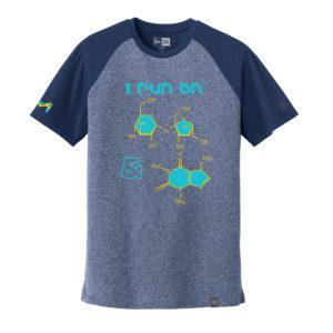 Men's Chemistry Blue Short Sleeve Science T-Shirt