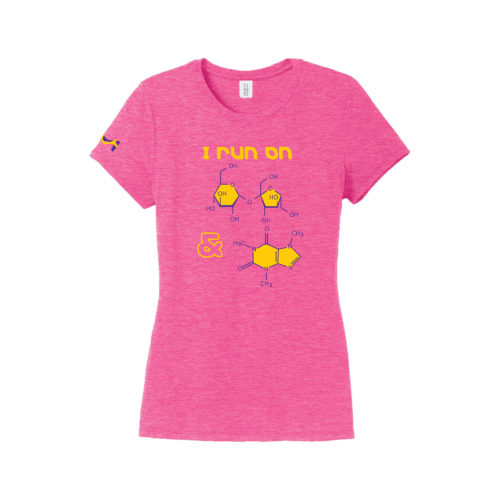 Women's ChemistryPink Short Sleeve Science T-Shirt