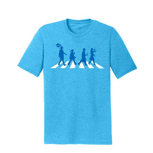 Men's Blue Short Sleeve Science T-Shirt