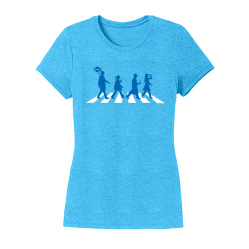 Women's Blue Short Sleeve Science T-Shirt