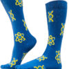 Unisex Biology Blue DNA Socks