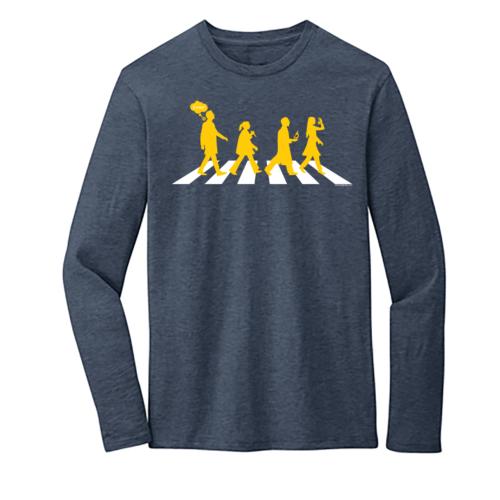 Women's Gray Long Sleeve Science T-Shirt