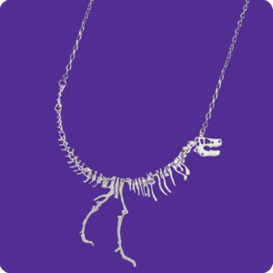 Dinosaur Science Research Necklace
