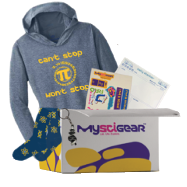 Men's Science Pi Day T-Shirt Gift Box