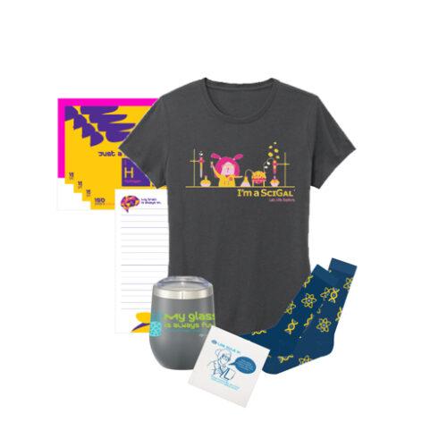 Women's Science T-Shirt Gift Box