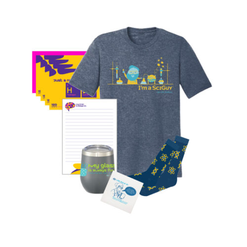 Men's Science T-Shirt Gift Box