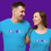Mens Womens Biology Labware Blue Long Sleeve Science T-Shirt