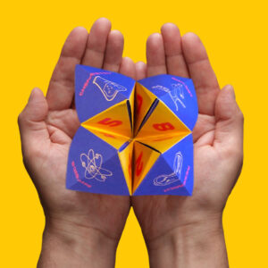 Science Research Lab Biology Chemistry Fortune Teller Cootie Catcher