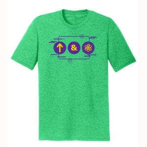 Men's Chemistry Green Short Sleeve Science T-Shirt
